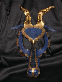 Blue and Gold Dragon